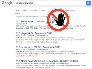 vlc media player download-achtung